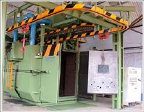 Shot-blasting & fettling shop